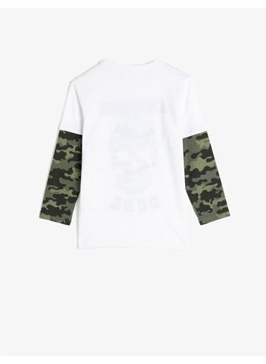 Koton Tişört Beyaz